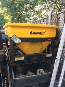 Snowex 7500 hopper assembly