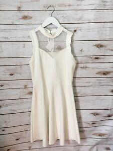 BRAND NEW NWT Monteau White A-Line Spring Formal Dress