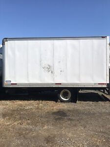 16ft insulated box with reefer