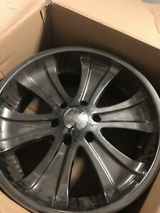 20 Inch Rims (Set of 5) - Boss Motorsports