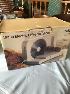 Braun Electric Universal Slicer