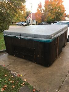 8 person hot tub need gone ASAP