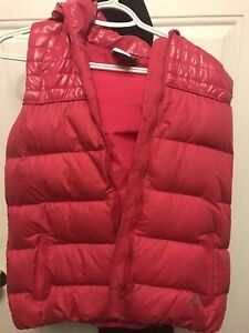 Down-filled Adidas (hooded) vest - size Medium