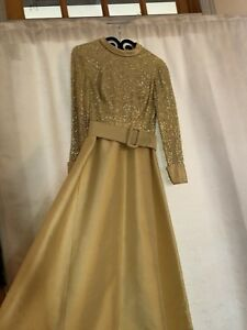 Vintage 1960-1970 Sequined Ball Gown