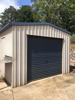 colourbond shed