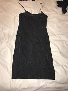 H&M sparkly bodycon dress for women
