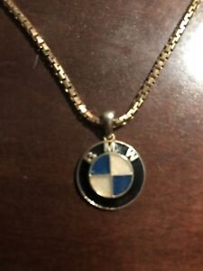 BMW pendant and chain