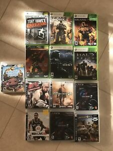 **PS3, XBOX, and 360 GAMES, QUALITY TITLES**