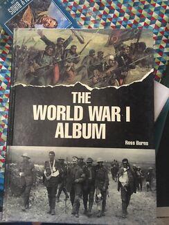 Both The World War I and II Album Books
