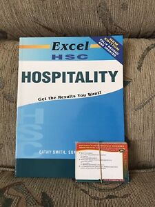 Excel HSC Hospitality REVISED & UPDATED Study Guide w/ Flash Cards Marayong Blacktown Area Preview