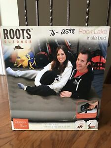 BNIB Rock Lake Insta Bed, by Roots Outdoor