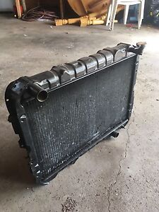 Toyota Land Cruiser 60 series Radiator and shroud