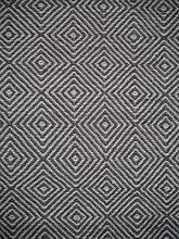 New Braid Diamond Flatweave Natural Grey Large Wool Rug Rugs Melbourne CBD Melbourne City Preview