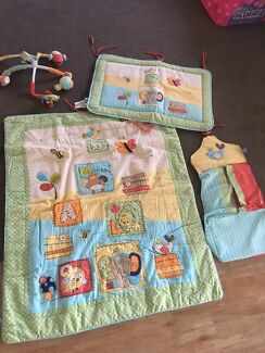 Infant bed set and mobile