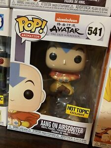 Aang on Airscooter Funko Pop Hot Topic Exclusive Avatar