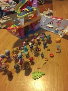 Littlest  pet shop Boat and Lot