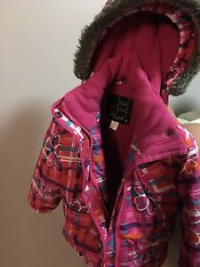 Year 2 pink snow suit