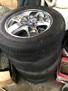 Tire and Mags wheel