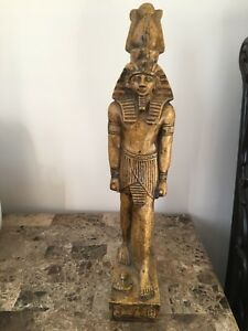 Large Unique Antique Egyptian Statue of Ancient King Ramses II