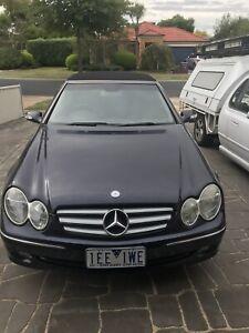Mercedes Benz Clk320 Convertible
