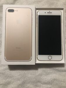 iPhone 7 Plus 128 gb unlocked