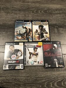 5 games for PS2