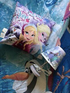 Frozen doona cover, lamp and cushion Doreen Nillumbik Area Preview
