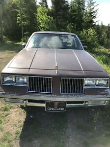 1983 Cutlass Supreme Brougham low km