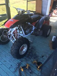 Looking for any 300 ex parts or full parts bike
