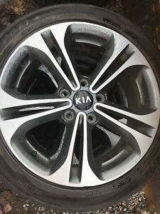 2016 Kia Forte Tires & Rims 17 inch Low Profile