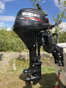 2015 9.9hp Suzuki long shaft (Brand new) 0 hours