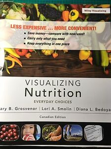 Visualizing Nutrition textbook - Wiley