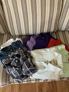 Selection of men's size large shirts designer casual and dress