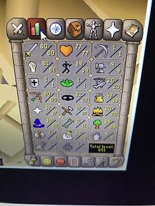 Old school Runecape 2007 fully quested pure!