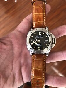 Panerai PAM24 - Submersible - AD Serviced - Box & Papers