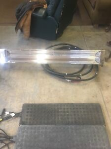 Large outdoor electric heater