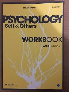 Year 12 textbook ( psychology workbook ) Bentley Canning Area Preview