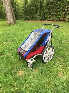 Chariot stroller with bike trailer attachment - Single