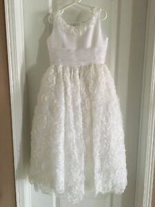 White Communion / Flower  Girl Dress
