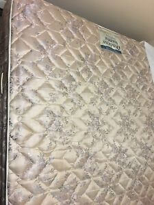 Queen Mattress, Boxspring and Frame