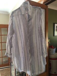 H&M linen shirt dress Dubbo Dubbo Area Preview