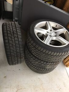 Winter tires with mags 17""