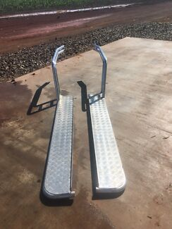 Tuff Sidesteps and Brush rails