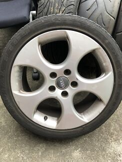 VW GOLF GTI 17 INCH ALLOYS Clemton Park Canterbury Area Preview