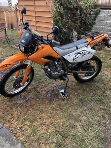 2013 Sagapower 250cc 4 stroke Dual purpose bike