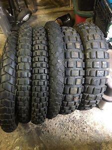 Dual sport tires 90/90-21 130/80-17
