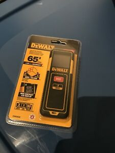 Brand New Dewalt 65 ft. Laser Distance Measurer DW065E