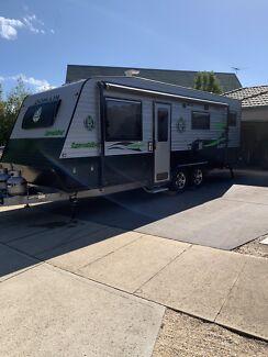 2015 Domain Lyrebird Family Bunk and  full en-suite Caravan Caroline Springs Melton Area Preview