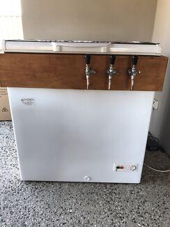 Beer Fridge with 3 Taps