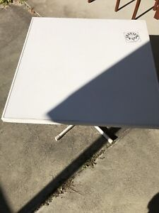 Sturdy square white table Bateman Melville Area Preview